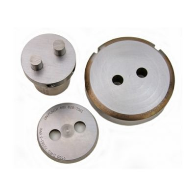 Hole Cluster Punch Tool - Cluster punches are used in a unit to punch multiple holes on close centers with one hit. The mating stripper plate aids in parting the material from the punch to avoid having the punch distort the material while stripping.