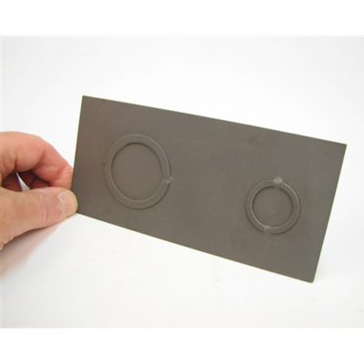 Electrical Knock Outs - UniPunch units with modified punches and dies are used for forming single and double electrical knock outs. The dies have built-in strippers to force the slug out of the die for easy removal from the unit.