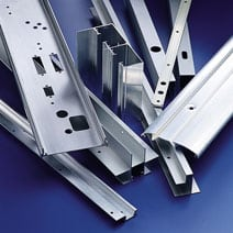Typical Parts For Hole Punching In Sheet Metal Tubes