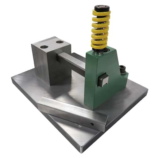 Mandrel tube punching - Punch square tubing, deformation free.