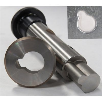 Keyhole Punch and Die - Keyhole Punch and Die: Round End and Square End Keyhole tooling is made to customer specifications.