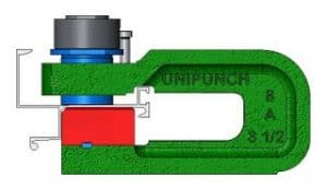 Aluminum Hole Punch From UniPunch