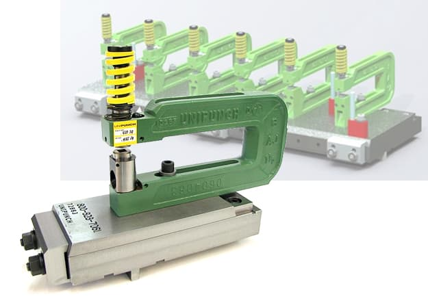 Quick Die Change System From UniPunch Tooling