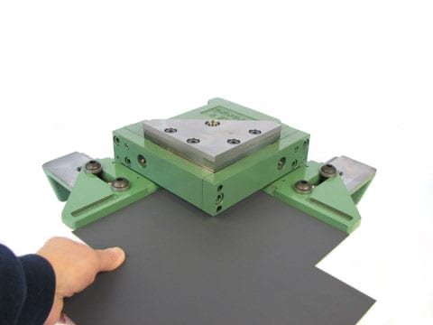 Corner Notching w gauge table
